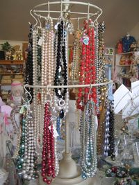 KD's necklace rack