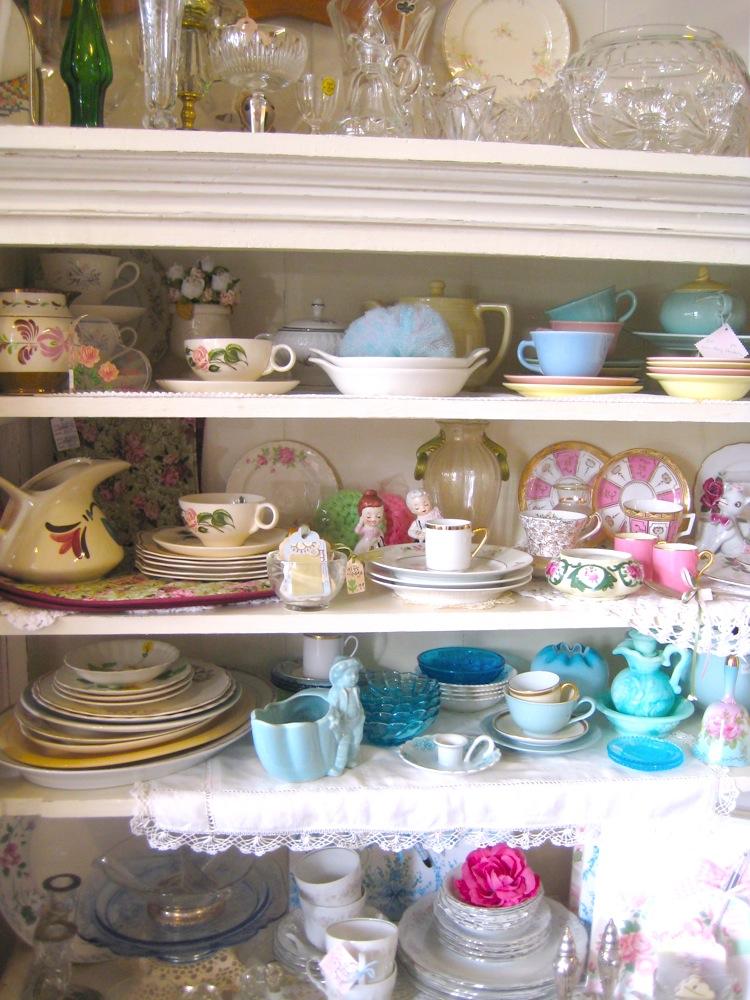 KD's shelves
