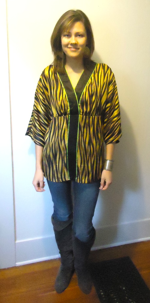 Tiger blouse