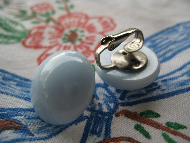 Hilo blue earrings