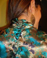 Gold green back