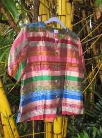 Thai jacket and bamboo