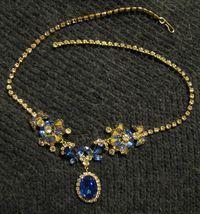 Sapphire Titanic necklace