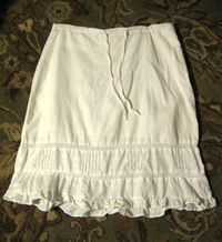 Linen skirt by Old Navy