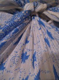 Vintage silk giftwrap birds