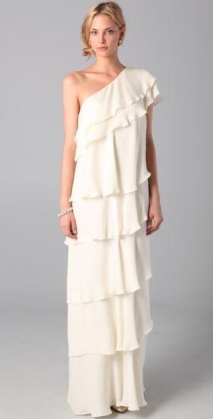 Rachel Zoe white maxi dress