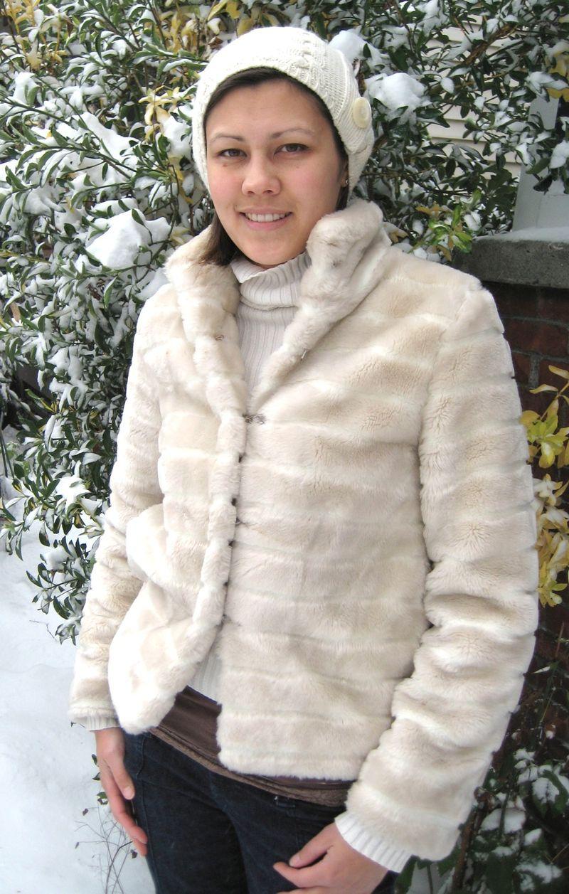 Winter Coats - faux fur