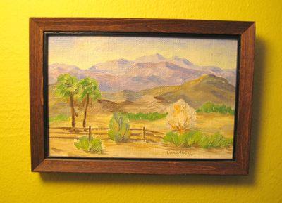 Desert miniature