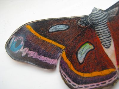 Butterfly shrinky dink
