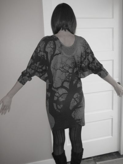 Spooky tree dress