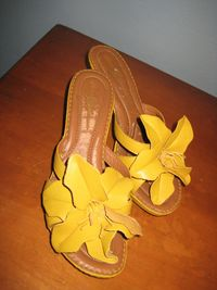 Born_yellow_flower_sandal